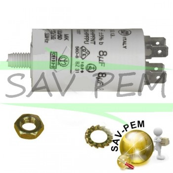 Condensateur 8 MF / 450 VOLT