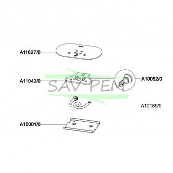 Module de commande pour plaque INDUCTION TIN3BK AIRLUX