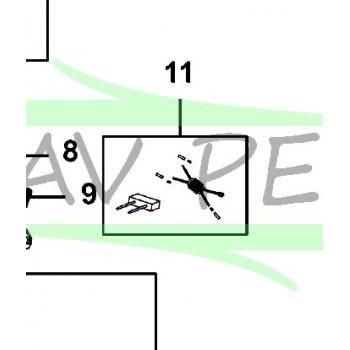 Condensateur 1004697-61 pour Élagueur BLACK & DECKER PS7525