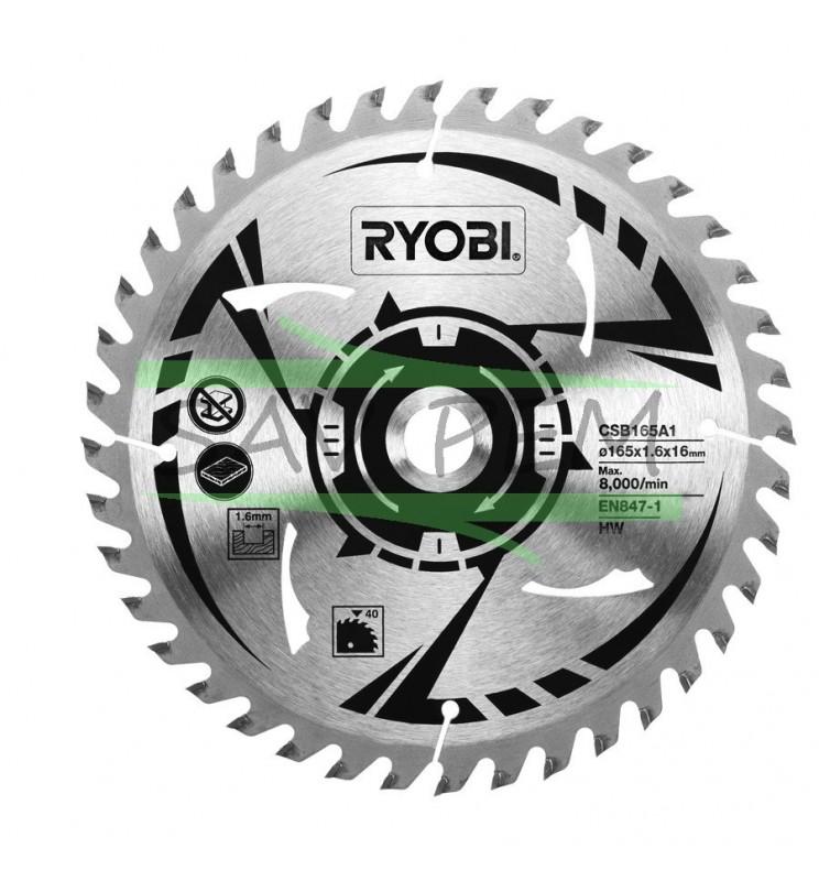 Lame ultra fine 165mm scie circulaire RYOBI