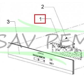 Platine de commande Z162013 AIRLUX modèle FMO460