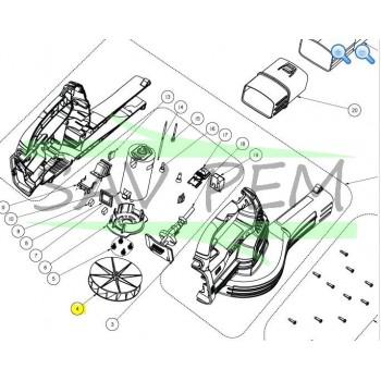 Turbine souffleur  RYOBI modèles OBL1820H et OBL1820S