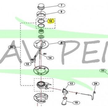Joint isolation pour poele MINIMAX