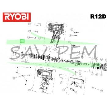Moteur  perceuses - visseuses sans fil RYOBI R12DD-L13S