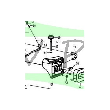 Bulbe amorçage motobineuse GREATLAND GL MB 140T 60