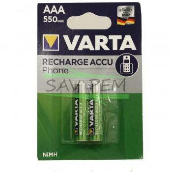 Piles VARTA rechargeables...