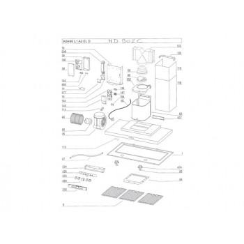 Module de commande hotte AIRLUX HD902C